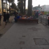 Someone selling snacks outside of my university
