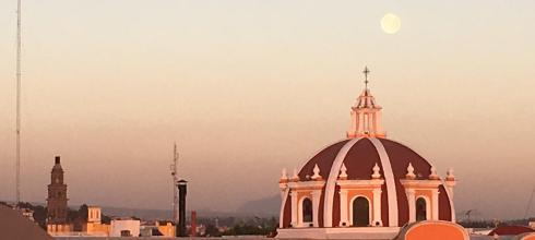 Even staying in Puebla, I get to see some beautiful sights