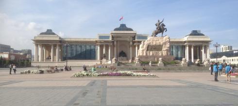 Sukhbaatar Square, the Heart of Ulaanbaatar