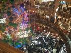 The Galleries Lafayette are decked out for the holidays!