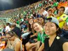 Some friends and I enjoyed a soccer match for Medellín's Nacional team
