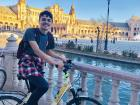 I went on a bike route around Seville, Spain
