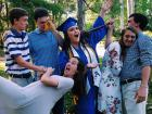 My siblings and me on graduation day