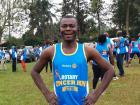 Me getting ready for the 5km run in my Rotary Club shirt