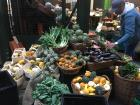 The Borough Market in London had fresh produce vendors, cheese stalls, bakeries and more!