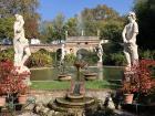 Garden in Lucca, Italy