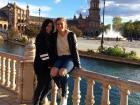 I visited my Spanish amiga Mar this weekend
