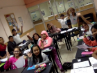 """The kids from Ecuador all say """"Hola"""". They are so excited to learn English."""