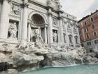 My favorite place in Rome was the Trevi Fountain
