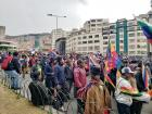 Indigenous Bolivians marched into the city after Evo Morales' resignation