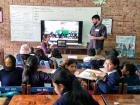 We are so grateful to have made a connection between classrooms before our sudden departure from Bolivia