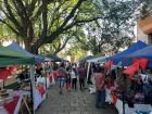 People in Salta often spend the weekends with their families, strolling through outdoor markets like this and lounging in local parks