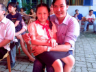 Vietnamese parents like this father wanted to provide their children with more opportunities and a better quality of life