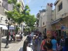 One of the two pedestrianized streets in the center of Salta