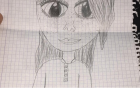 A drawing of me drawn by one of my students