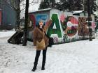 Tringa's friend painted this in Mitrovica... conveniently, it's my last name!