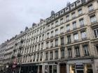 Building on a street in Lyon from walking tour
