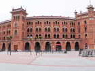 A view of the Plaza de Toros, where they hold bull fights - this is right outside my house!