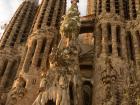 The Nativity Facade of the Sagrada Familia