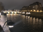 A view from Pont Neuf (new bridge)-one of famous bridges in the French capital