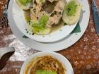 Gofio was served as a side dish with fish