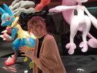 I love pokemon, so I had to visit the pokemon center