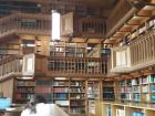 A glimpse into the interior of the Main University Library, built by American architects following the end of WW2. Students will be unable to appreciate the nice interior as they will be staring at their exam notes!