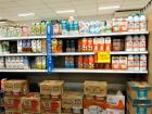 Now, I need milk for my coffee. I don't go to the refrigerated section, though. Brazilian milk comes sealed in cartons. This is the milk aisle!