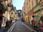 A pretty street in the Old Town of Nice