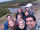 Selfie taken with teachers at the English immersion retreat