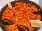 Paella from Barcelona, Spain