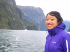 The view at Milford Sound was breathtaking!