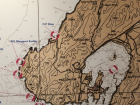 Can you identify where Wellington is on the map?