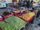 Early summer produce sold in the Old City of Jerusalem