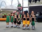 One of the small teams of Irish dancers in Singapore