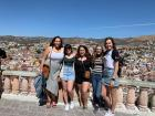 Me with my friends Lucero, Adela, Paige and Isabella in Guanajuato!