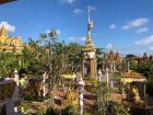 A Khmer pagoda on the first day of Khmer New Year