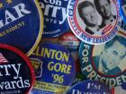 """Maripaz believes America should practice friendly politics; photo credit: """"Campaign buttons"""" by rhwalker22 is licensed under CC BY 2.0"""