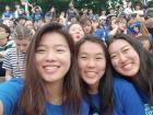 My friends and I attend Akaraka, my school's big spring concert
