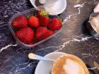 Many of the town squares have markets in the mornings, making fresh fruit a common addition to a morning cappuccino