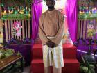 Me dressed in my Baju Melayu for my school's Hari Raya celebration