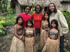 I met an indigenous Ecuadorian tribe that lives in the rainforest