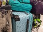 My whole life: four pieces of luggage!