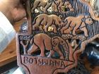 Souvenir of Botswana, the land of elephants!