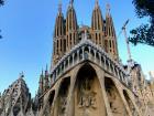 The main entry to the Sagrada Família