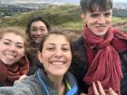 During my first week here, I hiked up Arthur's Seat with some new friends