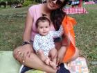 Yuli with her daughter, Maria Juliana!