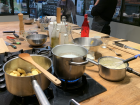 I learned so much about French cuisine taking a cooking class in Paris!