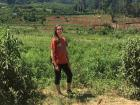 This picture was taken during my hike through the farms located in Honde, Mozambique.