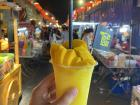 My favorite snack - so refreshing! At Jonker Street, the weekend night market in downtown Malacca